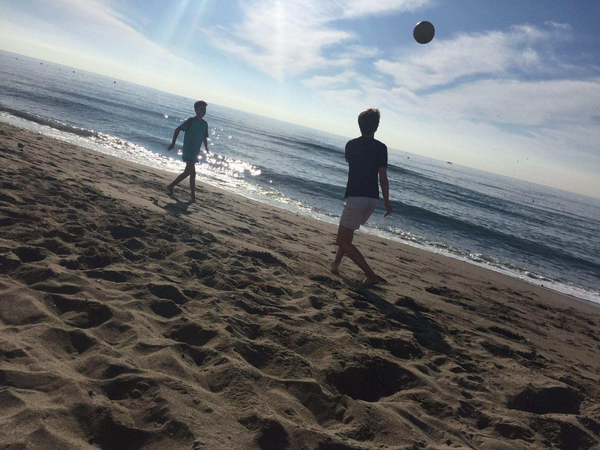 En fin dag på stranden