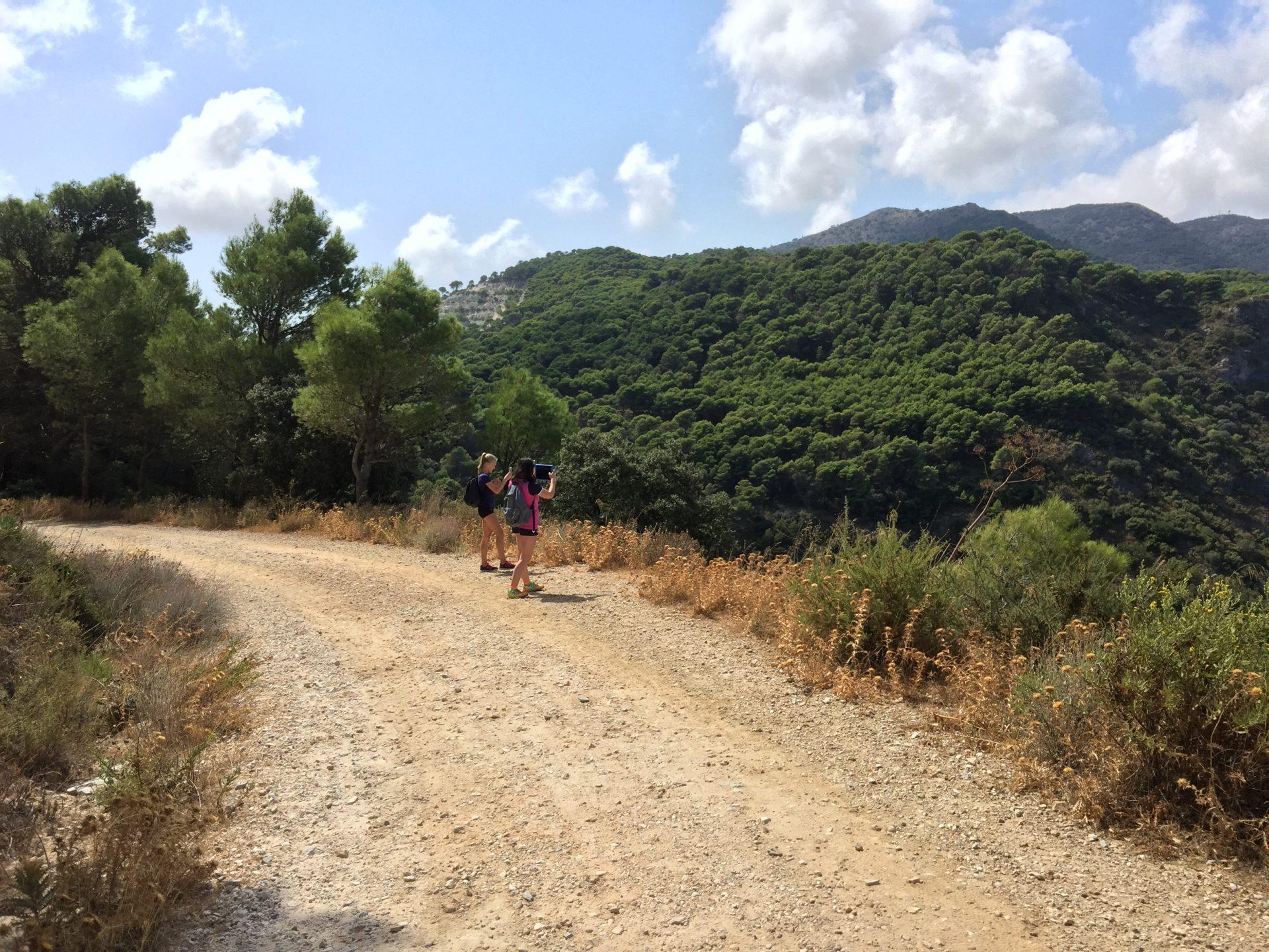 Til fots fra Mijas til Alhaurin de la Torre