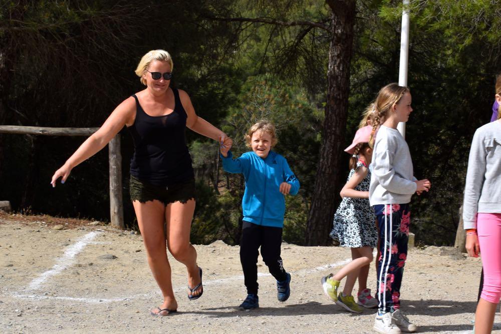 Krumspring og karpesvømming i Ardales