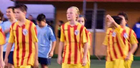 Fotballtalent i Malaga